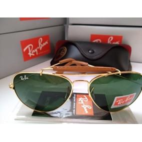 419e2e5808bae Ray Ban Caçador Couro De Sol - Óculos no Mercado Livre Brasil