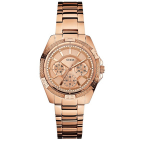 Relógio Guess Aço Rosé Feminino W0235l3 - Relógios De Pulso no ... db4084a5f0