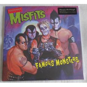 Misfits Famous Monsters Lp Preto 180 Gramas Audiophile