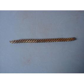 fa59ebb0472 Pulseira Relogio Feminino - Zenith - Antiga - Foleada Ouro