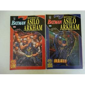 Batman Retorno Ao Asilo Arkham Nºs 1 E 2! Ed. Abril 1994!