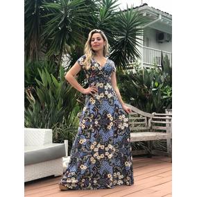 Kit 4 Vestidos Longo Moda Feminina Dia Das Maes Atacado