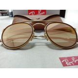 d08ecded02a1c Óculod Ray Ban Round Double Bridge Cobre Brilhante Degradê