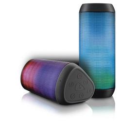 Caixa De Som Bluetooth Led Micro Sd 15w Rms Sp192 Multilaser