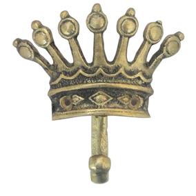 Porta Toalhas Coroa Porta Objetos Cabide Banheiros Bronze
