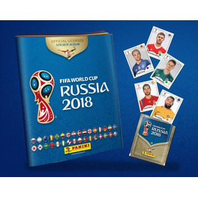 Complete Seu Álbum Figurinhas Da Copa Do Mundo 2018 - Panini