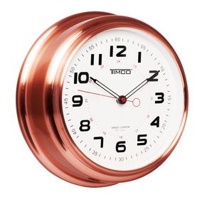 Reloj De Pared Marco De Cobre Hyw183