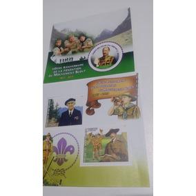 Selos Republica Do Benin 3 Un. Original Com Nfe