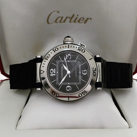 7c2c58ab97e Relógio Cartier Pasha Automatic - Relógios no Mercado Livre Brasil