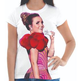 1aa2ad5616377 Camisetas Da Cantora Larissa Manoela - Camisetas e Blusas no Mercado ...