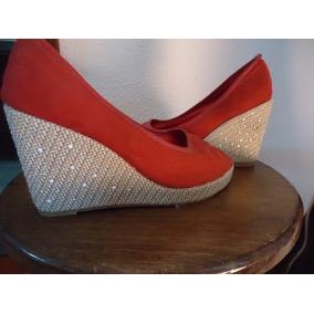 huge discount 39b1a bb9d5 Tacon Zapatos Dama 37 Cuña De SwFX0w