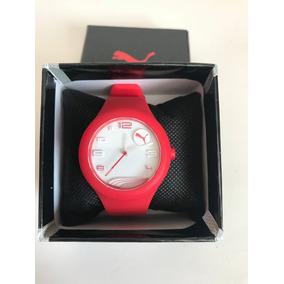 Reloj Puma Rojo Dama Silicon