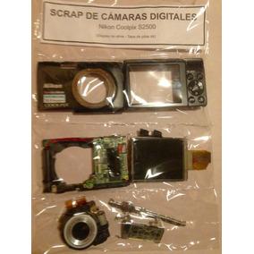 Cámara Digital Nikon Coolpix S2500 - Es Scrap Para Repuestos