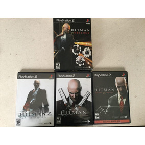 Trilogia Hitman Contracts Blood Money + Winning Eleven 9 Ps2 981fee0af7d4c