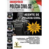 Apostila Concurso Agente Polícia Civil Sc Atualizada 2019