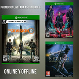 The División 2 Online + Devil May Cry 5 Xbox One Online