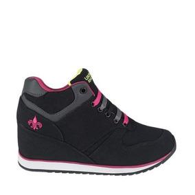 33661aa5 Zapatos De Plataforma Mega Shoes Mujer Botines - Zapatos Negro en ...