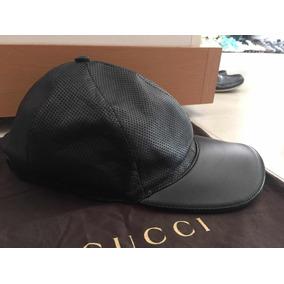 Gorra Gucci Piel Negra Orginal 330f04759c9