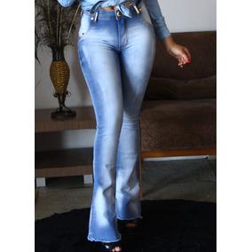 a8f3b01ca0 Calça Jeans Flare Feminina Jean Bela Preta - Calças Feminino no ...