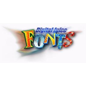 Fonts Digital Juice Coleção Completa 18 Dvds Frete Grátis