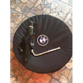 Estepe Fino Bmw E Mercedes Kit Roda Pneu Chave De Roda Macac