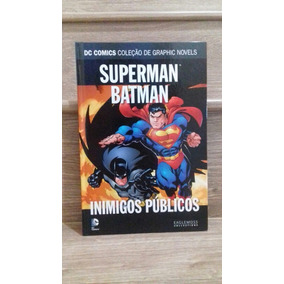Superman E Batman: Inimigos Públicos Eaglemoss!!!