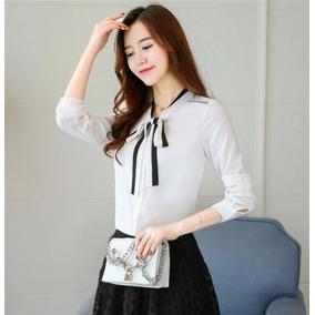 a617a76611934 Camisa Blanca Elegante Mujer - Ropa y Accesorios en Mercado Libre ...