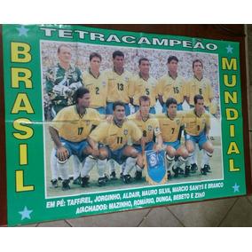 Pôster Brasil Campeão Mundial De 1994