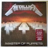 Lp 180g Metallica - Master Of Puppets 2017 Importado Lacrado
