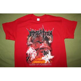 Gusanobass Playera Rock Metal Death Immolation Dawn L