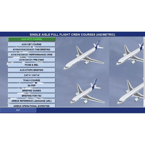 Curso De Transição Airbus Cbt A318-319-a320-a321
