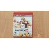 Madden 11 Nfl Ps3 Original Fisico -efa-
