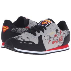 Tenis Puma Cabana Racer Batman Vs Superman Sneaker Niño Dc e6b863b9ee4ce