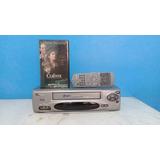 Video Cassete Philco 7 Cabeças Pvc-hf16 Hi Fi Stereo + Vhs