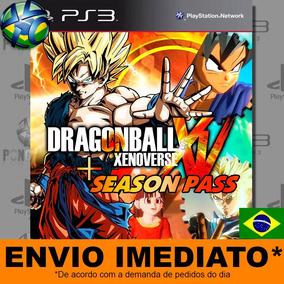 Jogo Ps3 Dragon Ball Xenoverse + Season Pass Psn Promoção
