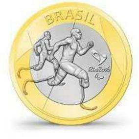 Moeda Olimpíadas Atletismo Paralímpico Kit 10 Unidades Bc