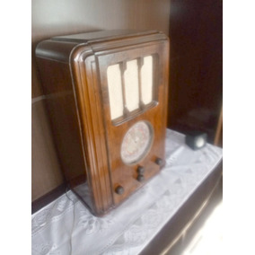 Radio Crosley 636 ( 1936 ) Gabinete Restaurado. Não Funciona