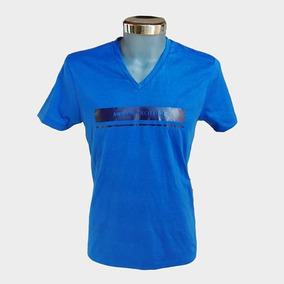 Playera Armani Exchange Azul