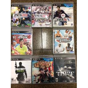 Jogos Ps3 Semi Novos:fifa, Thief, Bioshock, Call Of Duty