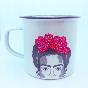 Regalo Original - Taza Peltre - Frida Kahlo