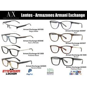 Armazones, Marcos Armani Exchange 100% Originales