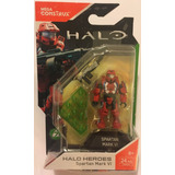 Mega Construx Halo Heroes Serie 7 Spartan Mark Vi Nuevo