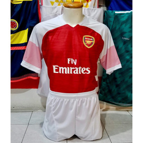 6e552f6dd7d58 Paquete De 10 Uniformes De Futbol Dri-fit Arsenal Local 2019