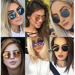 Rayban Hexagonal Preto - Óculos De Sol no Mercado Livre Brasil 685b873115