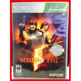 Resident Evil 5 Xbox 360 Original Lacrado