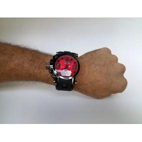 41fca9497ea Relogio Oakley - Fundo Vermelho - Relógios De Pulso no Mercado Livre ...
