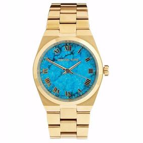 Relógio Michael Kors Mk 5266 Cor Turquesa - Relógios De Pulso no ... 4b5068d156
