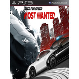 Need For Speed Most Wanted Digita Latino Ps3