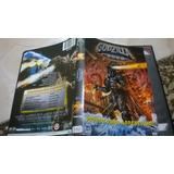 Godzilla 2000 Dvd Original Com Encarte Interno