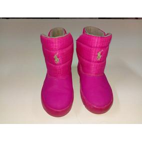 Botas Para Niña Rosa Polo Ralph Lauren * La Segunda Bazar